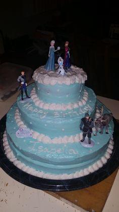 Disney's frozen birthday cake