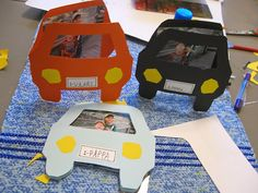 Sokkiksen räpellykset: askartelu  Father's day card, cars, with kids, diy