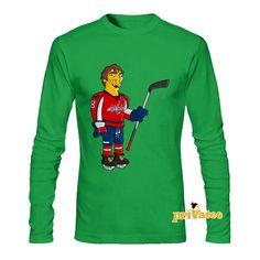 b6c45d8d4 NHL Hockey Washington Capitals Ovechkin Cool Long Tee Shirt