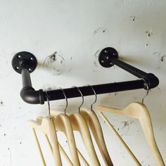 hangerrackretail industrial industria clothing display retail rack Clothing Rack Retail Display Industrial Clothing Rack Retail Display Industrial You can find Retail and more on our website Folding Clothes Rack, Clothes Hanger, Rack Design, Store Design, Laundry Room Shelves, Clothing Displays, Hanger Rack, Support Mural, Industrial