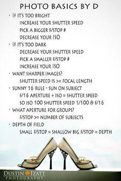 Just a few fun tips