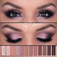Naked3 makeup tutorial