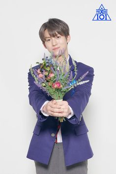 Hwang Yunseong produce x 101 Cute Korean Boys, Woollim Entertainment, Produce 101, Tiny Dancer, Kim Min, Golden Child, Seong, My Crush, Kpop Boy