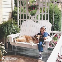 How to Build a Porch Swing - Kick back and relax with this fun-to-build weekend project. Enjoy the gentle sway of a porch swing on a summer night. With these clear how-to instructions and photos, you can build a classic porch swing in a weekend.