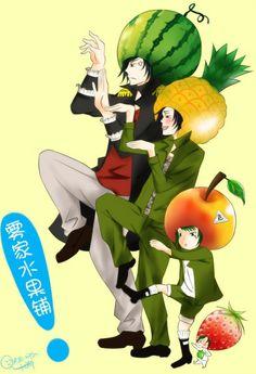 Daemon Spade, Mukuro Rokudo, Fran, Verde, funny