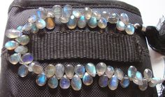 New Year Sale Fine Faceted Labradorite Pear Full Strand Earlier 30. $18.00, via Etsy.