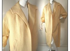 Vintage 1950s Coat Betty Rose Designer Jacket by ByMidnightSparkle, $135.00