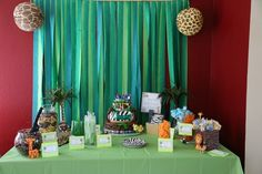 """Photo 5 of 30: Jungle/Safari Shower / Baby Shower/Sip & See """"Jackson's Party""""   Catch My Party"""
