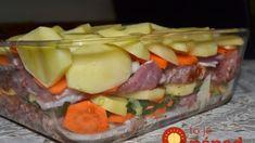 Prezidentská zemiaková misa: Šťavnaté mäsko so zemiaky, mrkvou a celé to zaliate šľahačkou! Pork Tenderloin Recipes, Pizza Hut, Food 52, Ham, Sushi, Recipies, Food And Drink, Cooking Recipes, Beef