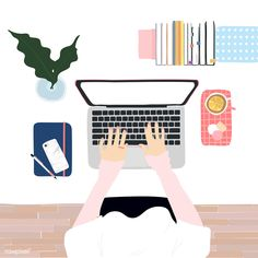 Illustration of people& daily life Flat Illustration, Free Illustrations, Graphic Design Illustration, Digital Illustration, Business Illustration, Affinity Designer, Mode Shop, Aesthetic Art, Cute Wallpapers