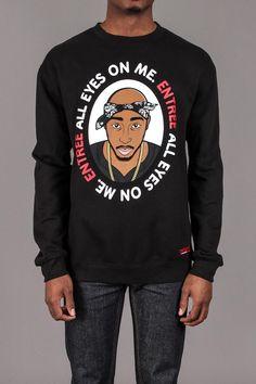 Entre Lifestyle All Eyes on Me Crew Neck Sweatshirt