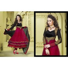 Trendy And Gorgeous Anarkali Salwar Kameez MJ 486 16155