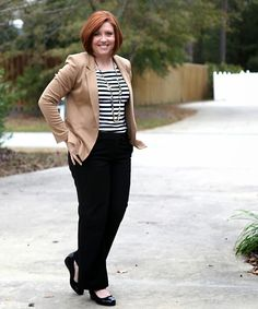 Savvy Southern Chic: Neutrals and a pop of color