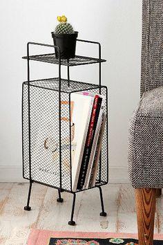 Mini Storage Rack. little baby night stand?