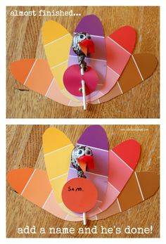 Paint-chip Turkey Th
