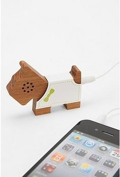 Wooden Pet Speaker