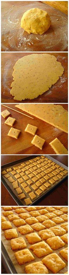 toptenlook: Cheese Crackers