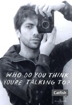 Nev Shulman of MTV's docuseries 'Catfish' -- Suuuuch an addictive show & Nev is the cutest thing you've ever seen in your whole life.