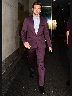 Rhe color suits him! PEOPLE's reigning Sexiest Man Alive puts his best (and most fashionable) foot forward