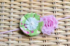 Petite Handmade Flower Headband