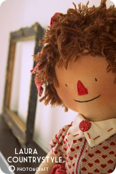 Country style: My first Raggedy Ann