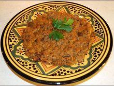 Zaalouk Moroccan Eggplant Salad  -  You had me at Moroccan.  And then at Eggplant.  And then at salad.