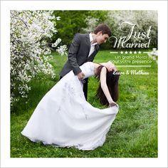 carte de remerciements de mariage 5 toiles personnaliser sur httpwww - Carte De Remerciement Mariage Avec Photo