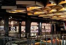 OUR WORK — MTRDC Timber Ceiling, Metal Ceiling, Ceiling Lights, The Glen Shopping Centre, Parents Room, Food Gallery, Lobby Interior, Avenue Design, Furniture Manufacturers