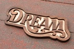 Dream Door Magnet Laser Cut Birch by SweetHollowMedia on Etsy