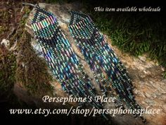 Western Style Beaded Earring   Medium / The by PersephonesPlace, $24.95