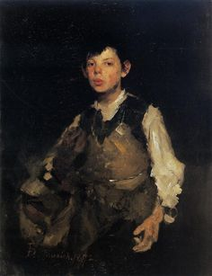 "thercery: "" The Whistling Boy ~ Frank Duveneck """