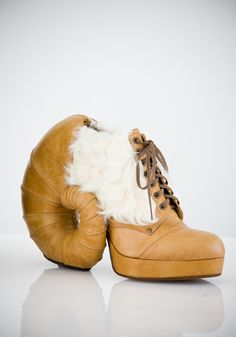 sheep- horn shoes