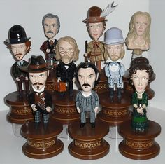 Deadwood bobbleheads!!!! I WANT ALL OF THEM!!!