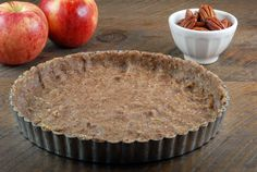 Paleo Pecan Tart Crust on http://www.elanaspantry.com