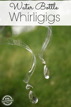 Water Bottle Craft ~ Whirligigs