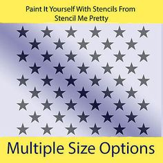 american flag star stencil template ideas to use or remembering