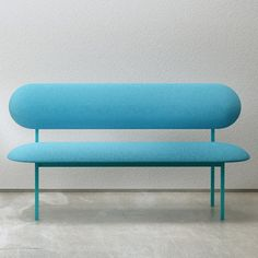 Sofa - Blue by Nina Tolstrup for 19 Greek Street | MONOQI #bestofdesign #couch