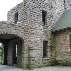 Being at Squires Castle was so cool!!!