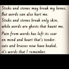 Emotional abuse hurts too