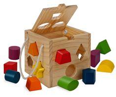 Eichhorn 100002092 - Holz Steckwürfel: Amazon.de: Spielzeug