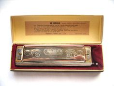 Yamaha Chromatic Harmonica NO-1200 in original box - Made in Japan - Professional musical instrument