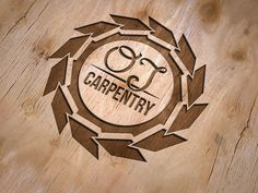 Logo Design for Carpentry Business by Graphics by Sabine.com