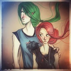 Saiph and Talitha
