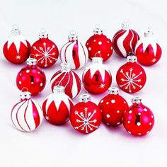 Medallion Collection Red With White Glitter Decorated Glass Ball Ornaments Kurt Adler,http://www.amazon.com/dp/B0048YGBPC/ref=cm_sw_r_pi_dp_7EuKsb10D15X47JK