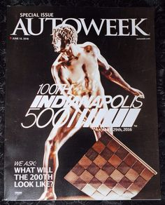 AUTOWEEK Magazine  June 13, 2016  (NO ADDRESS LABEL ON THE COVER)