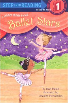 From ballet class to rehearsal for the big show to the final curtesies—budding ballet stars show emergent readers each step and pirouette along the way! This Step 1 story has big type and easy words, rhyme and rhythm, and picture clues and two sheets o. Dance Books, Childrens Ebooks, Star Show, Ballet Class, Early Readers, Reading Levels, Stories For Kids, Book Club Books, Read Books