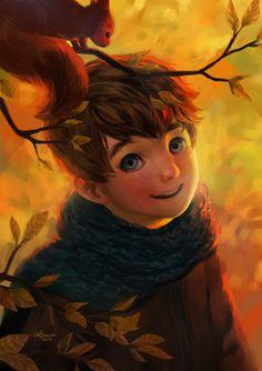 Golden October by Zippora.deviantart.com on @deviantART