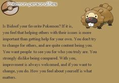 Pokemon Personalities: #399 Bidoof