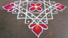 Simple Rangoli, Easy
