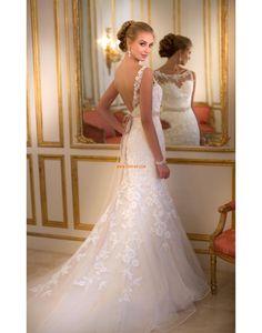 Vår 2014 Chic & Modern Ärmlös Bröllopsklänningar 2014
